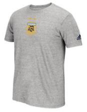 adidas climalite Argentina National Team Crest World Cup shirt Messi futbol men