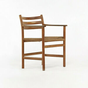 1960s Model 351 Dining Arm Chair by Poul Volther for Soro Stolefabrik of Denmark