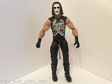 Wwe Tna Wcw Definición de momentos Sting Mattel Elite juguete figura de lucha Hof