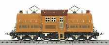 MTH 11-2028-1 STD GA LIONEL CORP TINPLATE 381E TWO TONE BROWN LOCO W/ PS 3 NIB