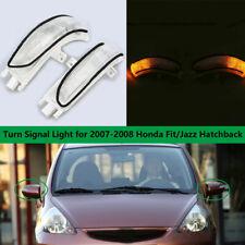 2x Side Mirror Turn Signal indicator Led Light Lamp For HONDA Fit Jazz 2007 2008