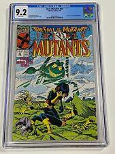 NEW MUTANTS #60 CGC 9.2 Marvel Comics 2/88 Death of Cypher comic