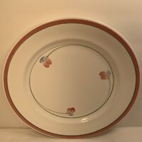 RORSTRAND ''JENNY'' DINNER PLATE 10 1/2'' SWEDEN HANDPAINTED