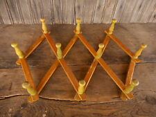 Vintage Extendable Coffee Cup Holder Hats Flea Market Country Farmhouse