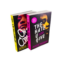 The Hate U Give & On the Come Up 2 Books Collection by Angie Thomas
