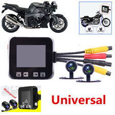 New 720p Waterproof Dual Lens Motorcycle Front&Rear Camera DVR Video Recorder C6