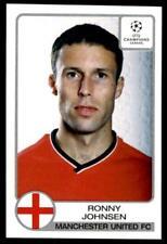 Panini Champions League 2001-2002 Ronny Johnsen Manchester United No. 175
