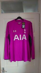 Tottenham Hotspur Spurs 2014/2015 Player Issue Away Goalkeeper Shirt Jersey - XL