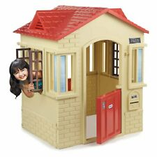Safe Garden View Outdoor Playhouse Cape Cottage Playhouse Toys Home Play Kids