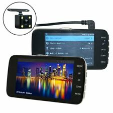 """In Car Camera Recorder Dual Front and Rear HD 1080P 4"""" Dash Cam Night Vision A++"""