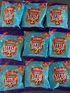 Coles Little Shop 2 Australian mini brands Unopened Blind Bags Series Zuru 1 Toy