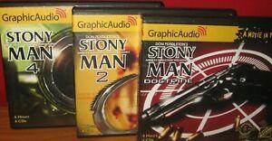 # 1 , 2 , 4 DON PENDLETON lot 3 CD Graphic Audio STONY MAN MATT BOLAN Doctrine
