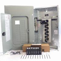 Eaton BR2020B100V Cutler-Hammer BR 20-Space Breaker Panel w/6 Breakers 100A