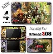 The Legend of Zelda Twilight Princess Cool Skin Sticker Cover for Original 3DS