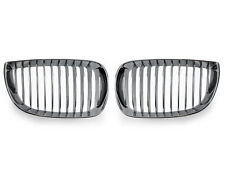 * 08-12 BMW E81/E87 1 Series Chrome Front Kidney Grill Grille Left+Right New