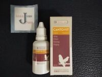 Canto-Vit oropharma bird 30ml versele laga vitamins finches canaries Singing