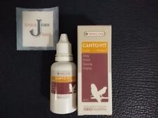 Canto-Vit oropharma bird 30ml versele laga vitamins finches canaries Singing