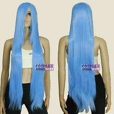 100cm Baby Blue Heat Styleable long Cosplay Wigs  85_4134