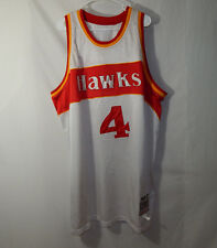 Spud Webb Atlanta Hawks Mitchell and Ness NBA Basketball Jersey Size 60 a26fec6bc