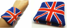 Union Jack  Wristbands Headbands Gym Yoga Cycling Sports Sweatbands Headba 2 Pcs