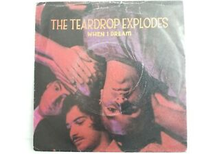 "The Teardrop Explodes - When I Dream 7"" Vinyl Single"