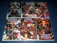 HE MAN AND THE MASTERS OF THE MULTIVERSE 1 2 3 4 5 6 InHyuk Lee universe DC NM