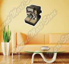 "Old Vintage Retro Photo Camera Polaroid Wall Sticker Room Interior Decor 18""X25"""