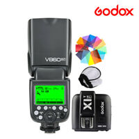 Godox V860II-F Camera Flash Speedlite TTL 2.4G X1T-F Transmitter For Fujifilm T3