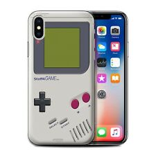 STUFF4 Case/Cover for Apple iPhone X/10/Games Console/Nintendo Game Boy