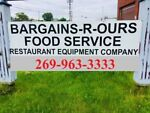 "BARGAINS""R""OURS EQUIPMENT"
