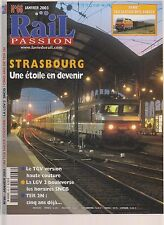 RAIL PASSION N°66 STRASBOURG / ALSTOM SYRIE / TER 2N / TGV VERSION HAUT COUTURE
