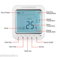Digital Heating Programmable Thermostat Dual Temperature Controller LCD 60 HZ