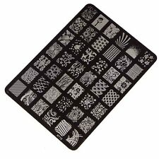 Fashion Nail Stamping Printing Plate Manicure Nail Art Decor Image Stamps Plate