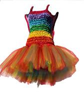 Adult Womens Tutu Costume /Fairy dress 7 Layer Rainbow