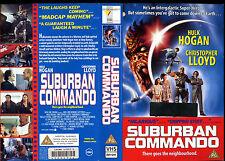 Suburban Commando, Hulk Hogan Used Video Sleeve/Cover #16201
