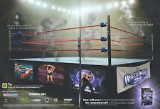 """Wrestle Mania 21 """"Coming May"""" 2005 Magazine 2 Page Advert #4876"""