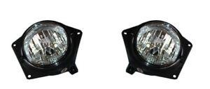 For 2006-2009 Hummer H3 2ND DESIGN Fog Light Lamp PAIR Left Side + Right Side