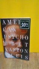 Vintage Contemporaries: American Psycho by Bret Easton Ellis (1991)(B-71R)