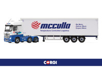 CC15805 Corgi Mercedes-Benz Actros MP4 Fridge Trailer McCulla Ireland 1:50 New