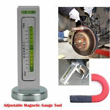 Adjustable Magnetic Gauge Tool Car Camber Castor Strut Wheel Alignment Truck US