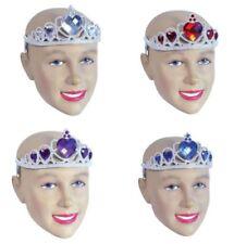 Coronas y tiaras color principal plata para disfraces y ropa de época