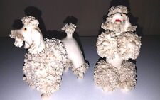 Two Vintage Spaghetti Poodles - Made in Japan
