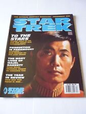 December Star Trek Monthly Magazines in English