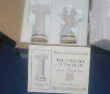 Franklin Mint The Chess Set of The Gods Ionic Columns Rook & Pawn MIB COA