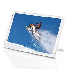 Snow Mobile Jump Classic Fridge Magnet - Stunt Sports Ski Sport Gift #15988