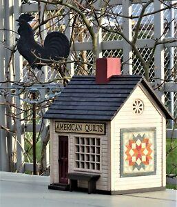 "HAROLD TURPIN AMERICAN FOLK ART VINTAGE STYLE ""AMERICAN QUILTS"" SHOP"