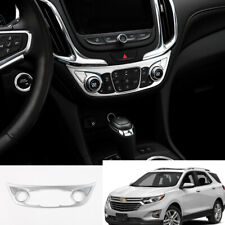 FOR Chevrolet Equinox 2018-2020 ABS sliver Air Conditioning switch Panel trim