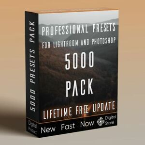 5000+ Professional Lightroom Presets and Photoshop