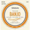 Daddario EJ63 4-String Tenor Banjo Strings , New!