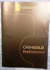 RARE FIRST SELECTION SET .999 Gold Nadir Karatbar 1/10 0.10 gram x14 =1.4 GRAMS!